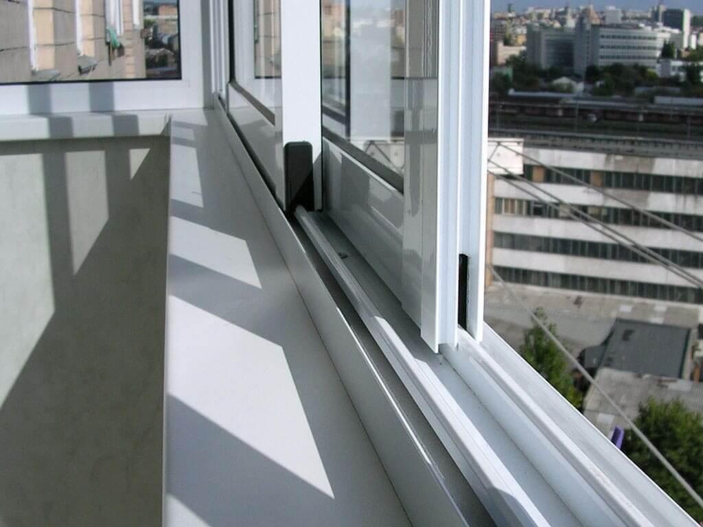 Замена холодного остекления на теплое без изменения фасада